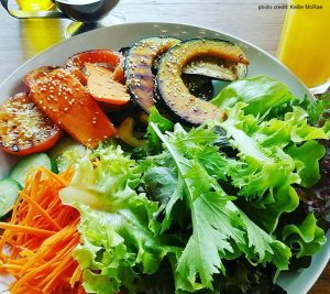 savory-grilled-veggies-and-salad